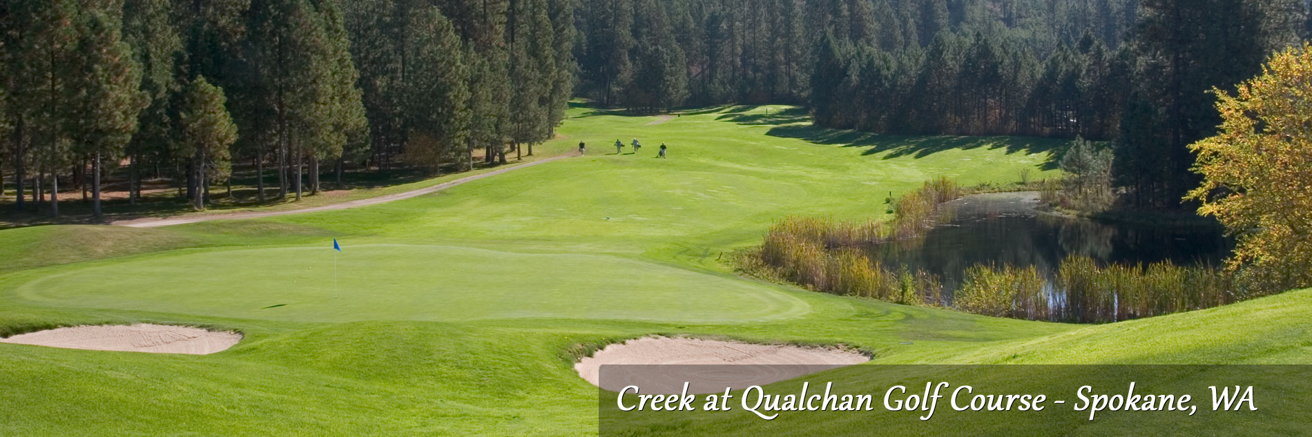 Creek at Qualchan Golf Course